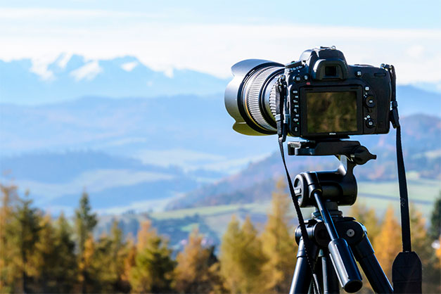 use a tripod for greater control in travel photos